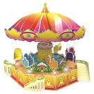 Saffire Flying Chair 3D DIY Paper Jigsaw Puzzle With Light and Music, multicolor