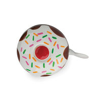 Stop To Shop Bike Bell Cup Cake,  white