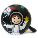 Stop To Shop Bike Bell Spaceboy,  black