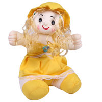 Joy Playable Baby Doll, yellow