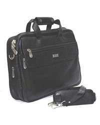 Bag Jack Serpentis Leather Office Bag, black