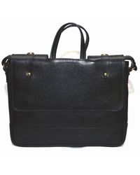 Bag Jack Velorum Leather Office Bag, black