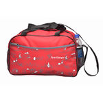 Believe Trans Duffle Bag, red