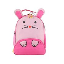 Bleu School Bag Ideal for Kids, pink and baby pink