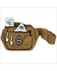 Unisex waist pouch, beach brown