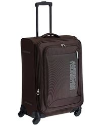 American Tourister Mocha Polyester 66cms Tobacco Trolley