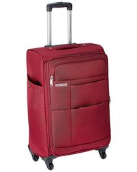 American Tourister Speed Polyester 76Cms Maroon Soft Sided Suitcase