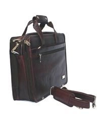 Bag Jack Capricorni Leather Office Bag, brown