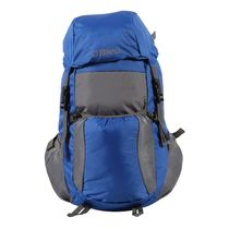Bleu School Bag Ideal for Kids, royal blue and grey