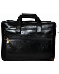 Bag Jack Aurigae Leather Office Bag, black
