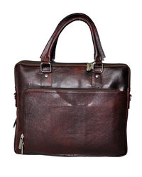 Bag Jack Centauri Leather Office Bag, brown