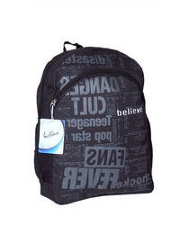 Believe New Print Backpack, black