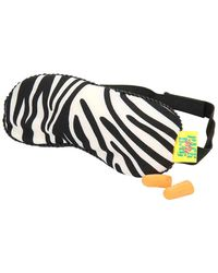 Microbeads eye mask with ear plugs, black