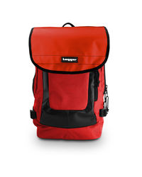 Tagger Urban Electro Laptop Backpack For Unisex, red