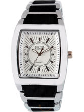 Exotica Gents White Fashion Watch