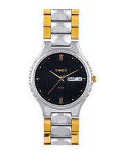 Timex  Wrist Watch, Classics Collection, Men, C904, black, steel...