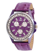 Chappin & Nellson CN-L-01-Purple Ladies Watch, Purple, Purple