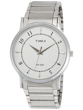 Timex Grey Dial And Silver Strap Analog Watch For ...