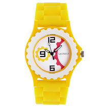 Laurels Kids 1 Analog White Dial Kids Watch-Lo-Kd-1008