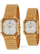 EX-London Design EX-LD-77-MOP Pair Watch
