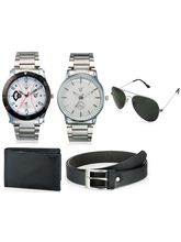 Rico Sordi Mens watch with sunglass, leather belt & wallet