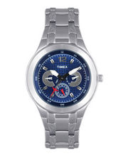 Timex  E-Class Analog Men Watch - TI000F90400, blue, silver