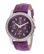 Chappin & Nellson CN-L-07-Purple Ladies Watch, Purple, Purple