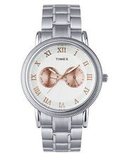 Timex  E-Class Analog Men Watch - TI000J20700, white, brown