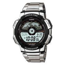 Casio Gents Watch - D088 (AE-1100WD-1AVDF), silver, multicolor