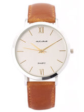 Nucleus Watch For Men - LSSB, Silver, Brown