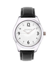 Laurels Original Vogue Men Watch, white, black