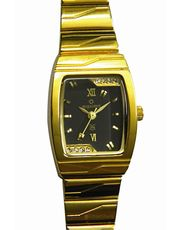 Maxima Rectangle Delicate Watch (E-19843CMLY)