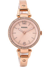 Fossil Es3226 Georgia Analog Watch For Women, Rose...