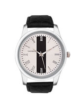 Laurels Original Men Watch Lo-Imp-101, black silver, black