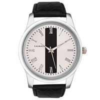 Laurels Original Men Watch Lo-Imp-101, black, black & silver