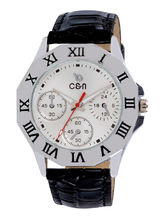 Chappin & Nellson CN-02-G-White Gents Watch, White, Black