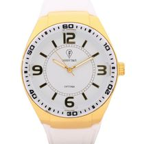 Fashion Track By Optima Mens Watch, white, white