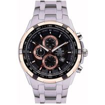 Casio Mens Watch - EF539D-1AVDF, silver, black
