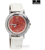 Women White Strap Analog Watch (CSTSWHT-PNK)