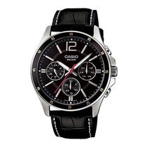 Casio Gents Watch - A834 (MTP-1374L-1AVDF), black, black