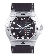 Timex  Fashion Analog Black Dial Men's Watch-EL03, Black, Black