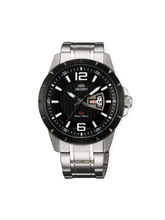 Orient UG1X001B Men Luxury Watch, black, white