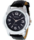 Exotica Black Fashion Gents Watch