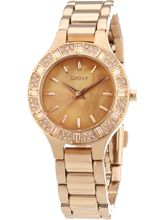 DKNY Ny8486 Essentials Analog Watch For Women, gold, multicolor