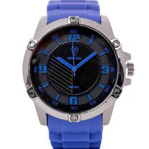Fashion Track By Optima Mens Watch, blue, black