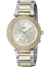 Fossil Women's Urban Traveler Multifunction Stainless Steel Watch ES3850