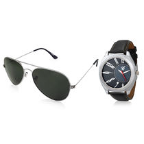 Rico Sordi Set of Mens Watch with Sunglass RSD8-WSG, black, black