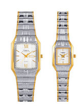 Timex PR135  Formals Pair Watches, silver, multicolor