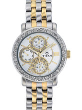 Titan Chronograph 9743Bm01 Ladies Watch