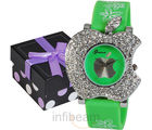 Geneva Ladies Green Watch (GAB-Green)